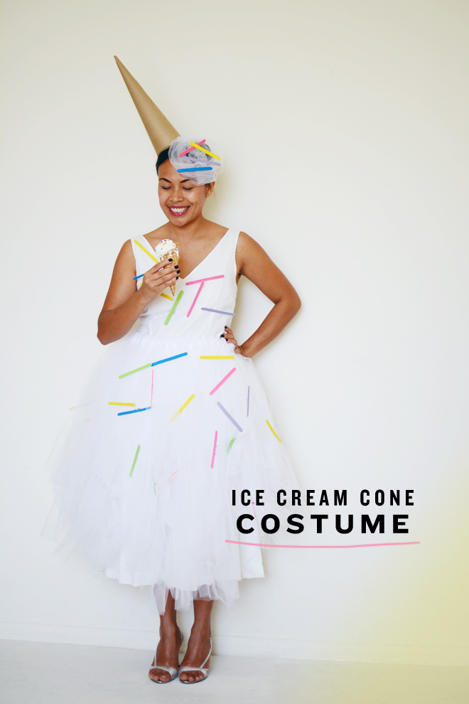 diy: ice cream cone costume : CAKIES