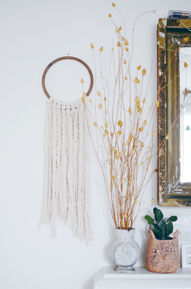 Cotton Rope Wall Hanging Cakies